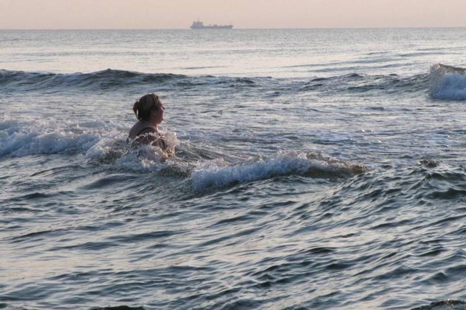 В Балтийске один из самых хороших пляжей, но купаться здесь опасно.