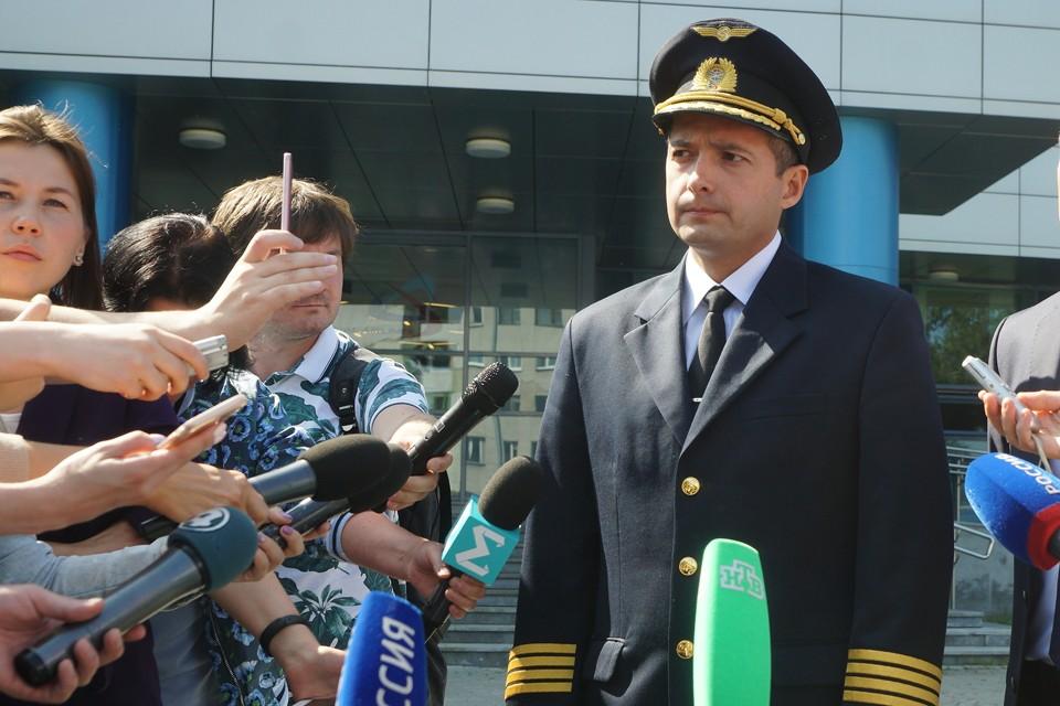 Дамир Юсупов, посадивший вместе с экипажем пассажирский самолет на кукурузном поле, еще не привык к роли героя.