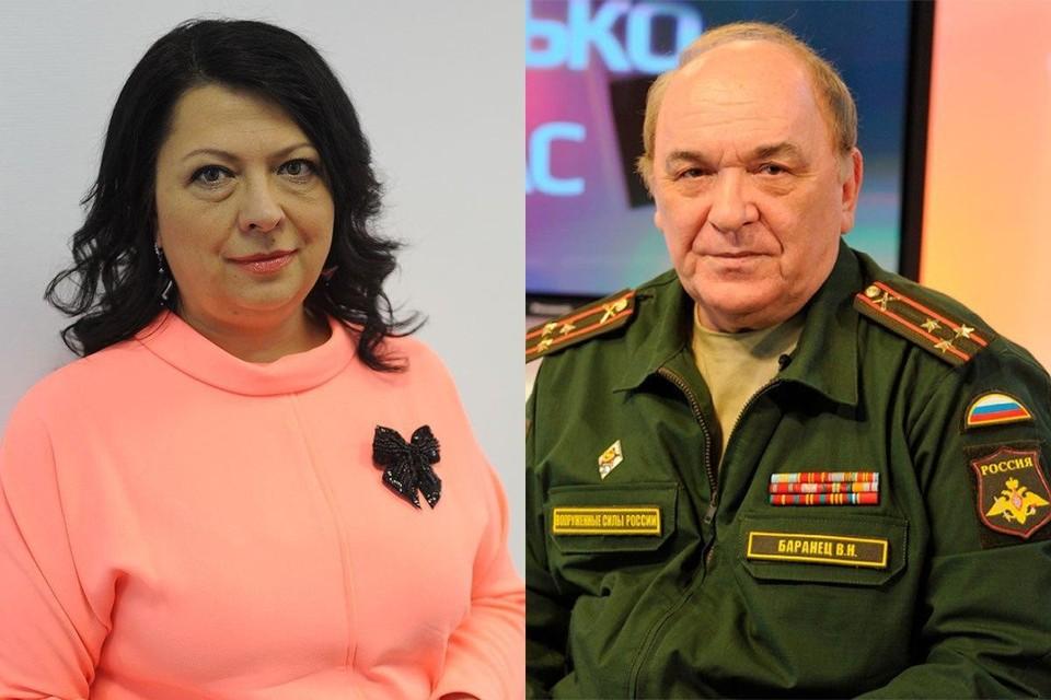 Галина Сапожникова и Виктор Баранец. Фото: Владимир Веленгурин, Михаил Фролов.