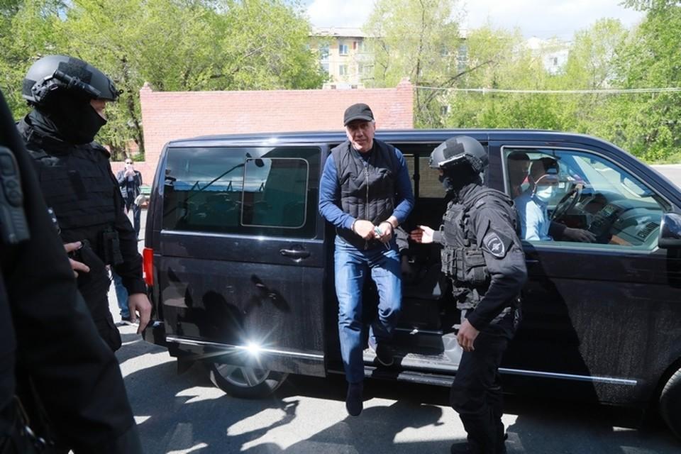 Май 2020 года: Анатолия Быкова берут под стражу в Свердловском районном суде