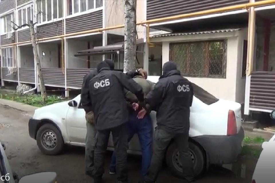 Скрин-фото: оперативная съемка, проведенная сотрудниками ФСБ