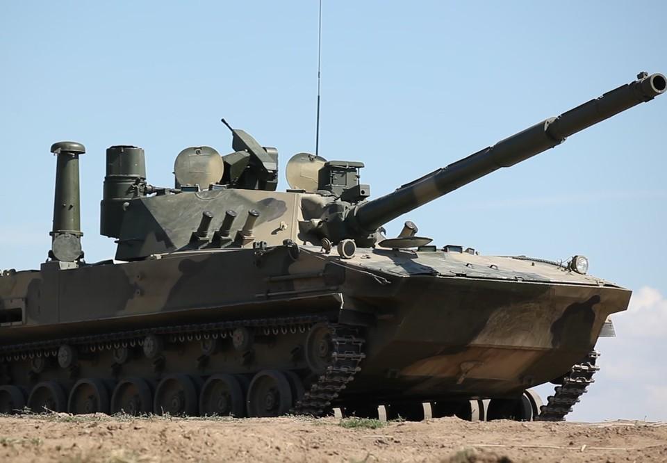 Видео испытаний легкого танка «Спрут-СДМ1» на Черном море опубликовал Ростех. Фото: официальный сайт Ростеха