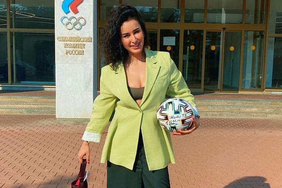 Тина Канделаки запустила кампанию в поддержку олимпийской сборной России