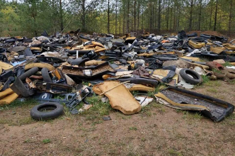 Площадь, занимаемая мусором, равна 300-400 квадратным метрам. Фото: admkirov.ru