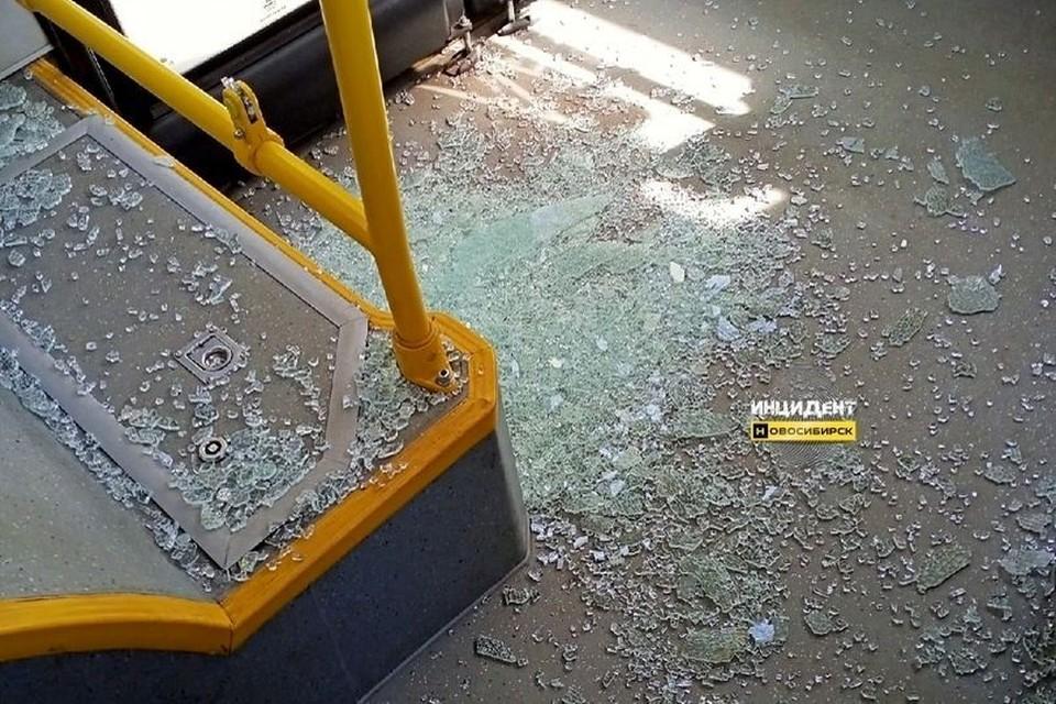 Осколки ранили сибиряка. Фото: «Инцидент Новосибирск».