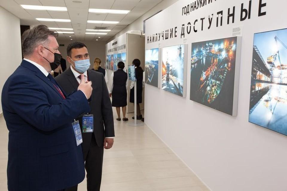 Специализированная фотовыставка «Наилучшие доступные технологии».