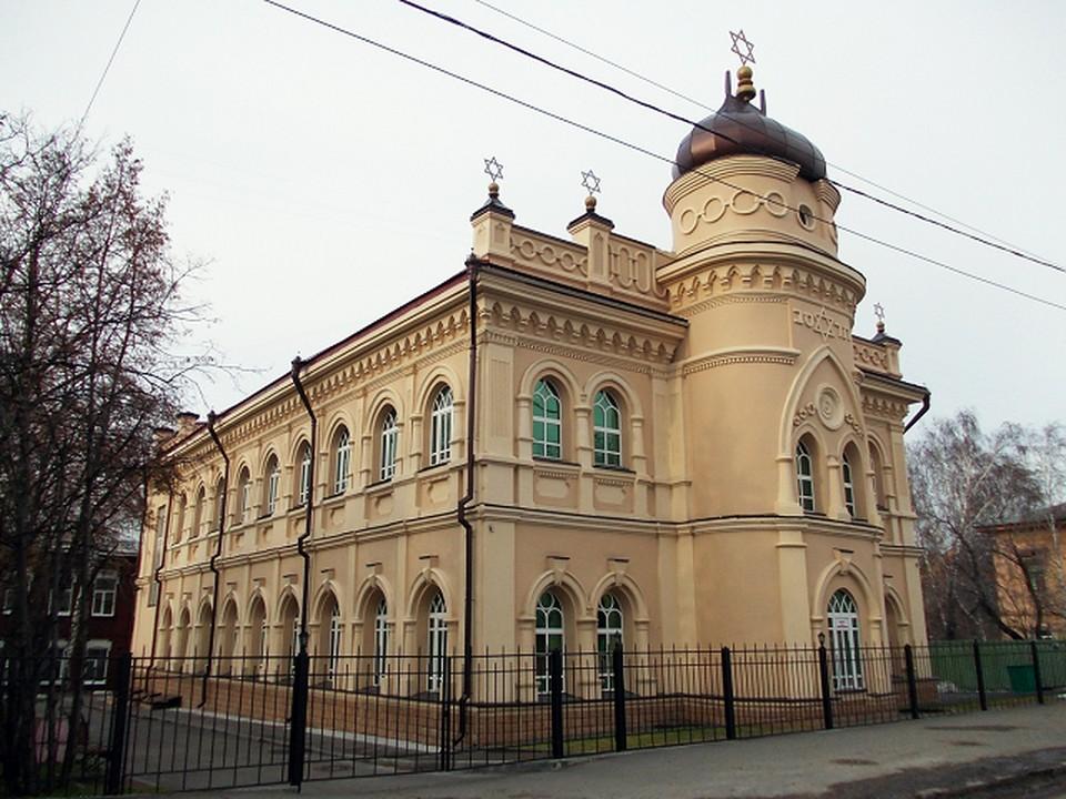 В здании хоральной синагоги 12 сентября откроется крупнейший в России детский еврейский центр. Фото: сайт Еврейской общины Томска.
