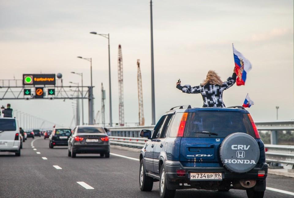 Девятнадцатикилометровый Крымский мост – самый протяженный в Европе. Фото: архив «КП»-Севастополь»