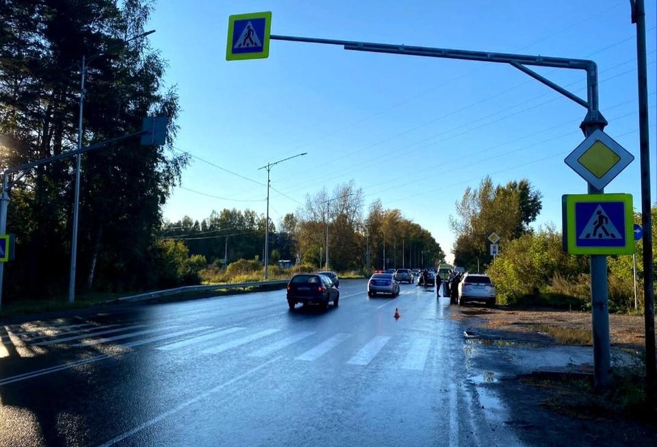 Еще один пешеход попал под колеса автомобиля в регионе. ФОТО: пресс-служба УМВД России по Томской области