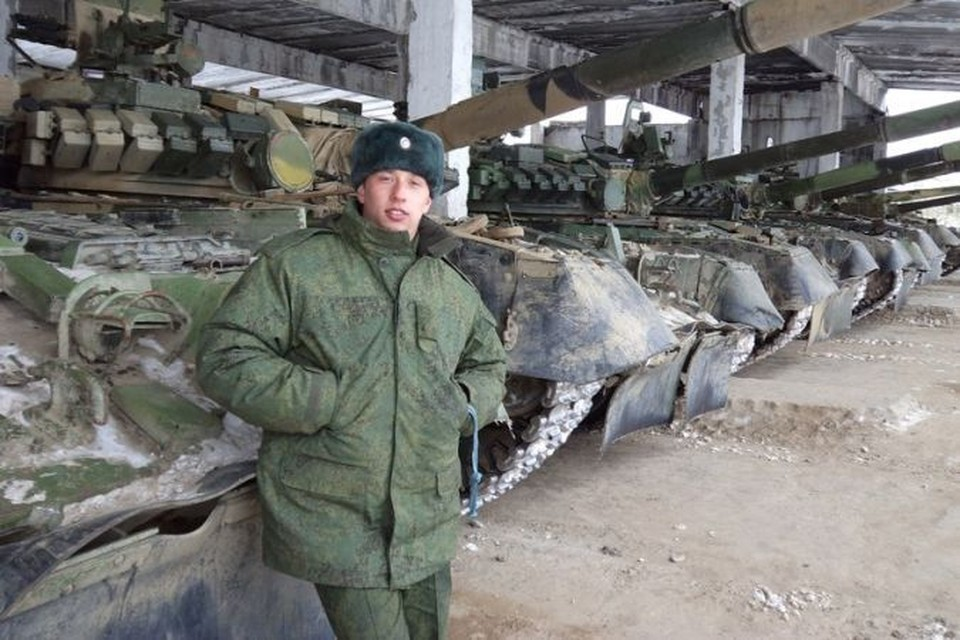 Командир Т-72 Дилюс Гарипов